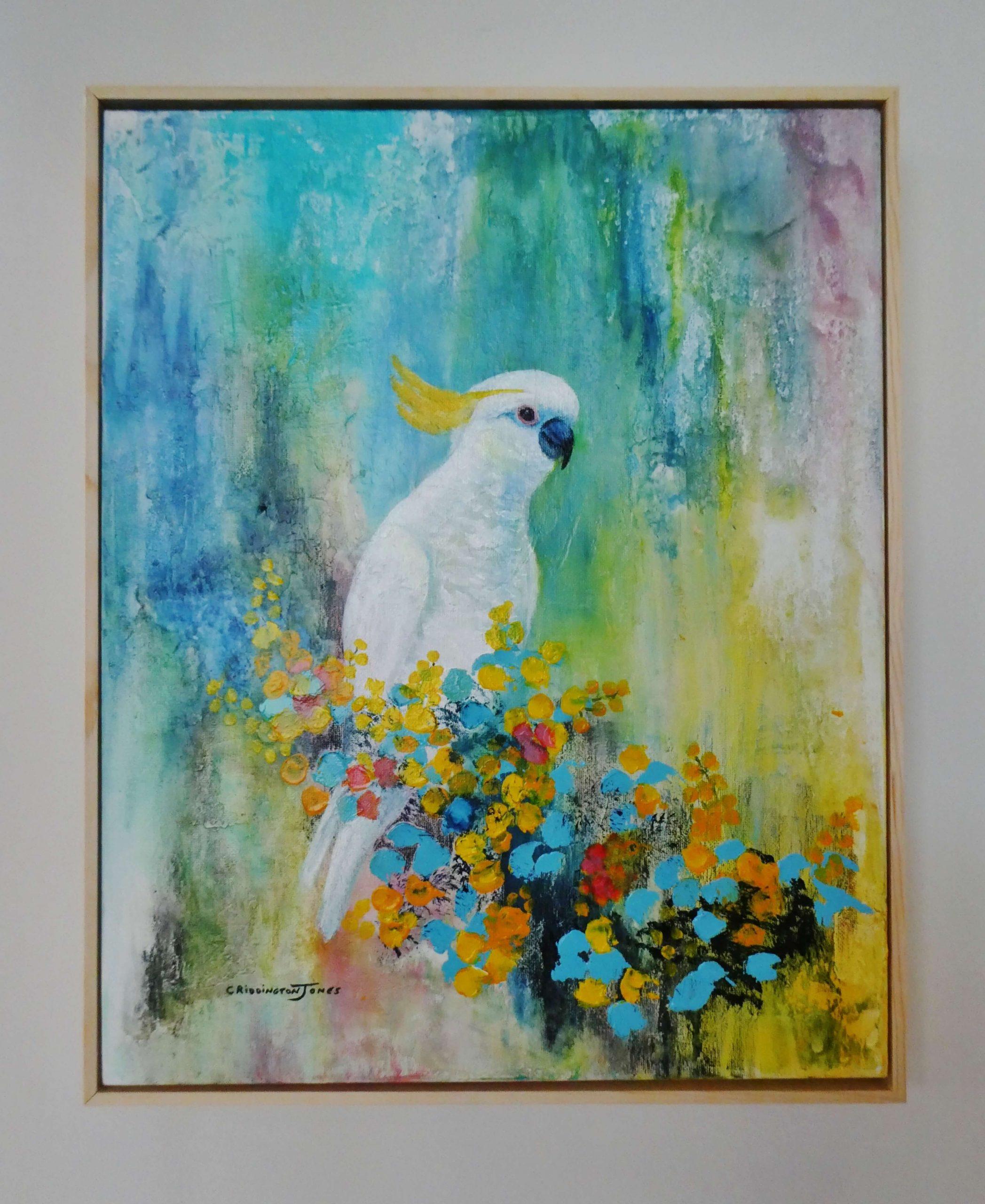 Clare Riddington Jones, Spring Feast Framed
